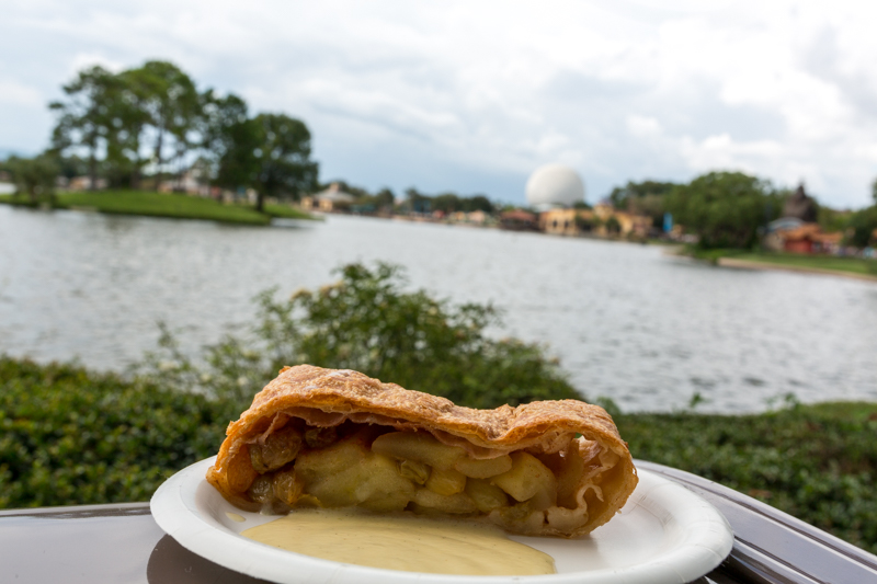 Apple Strudel Germany Epcot Food Wine Festival