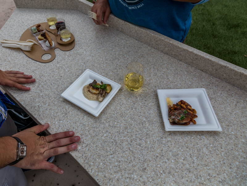 Epcot Food Wine Festival 2016 Wine Dine Studio Food Review