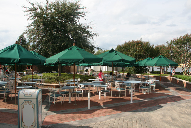 Epcot Outdoor Seating United States