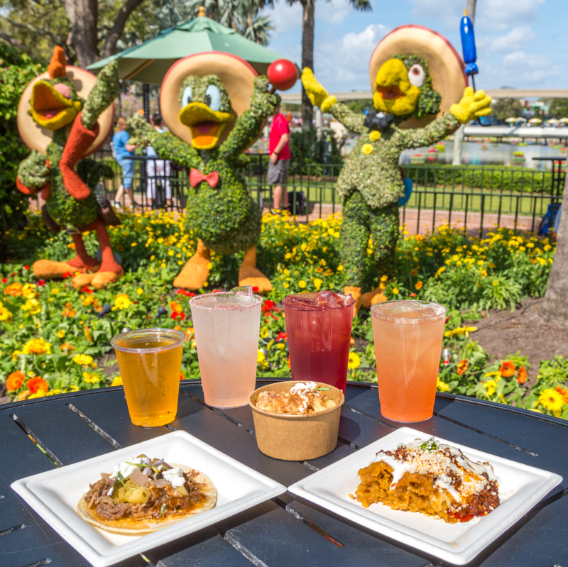 Best Food And Drinks At The 2018 Epcot Flower And Wine Festival Plus