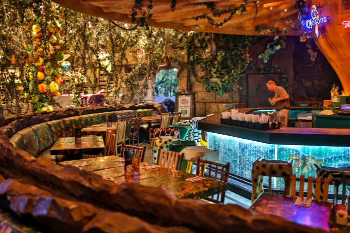 Rainforest Cafe Landry Restaurants