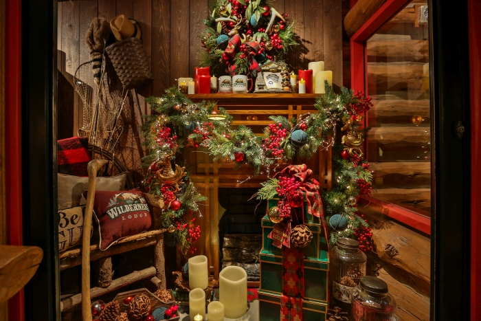 hailing from the pacific northwest myself i may be a bit biased but ive always felt like wilderness lodge feels the most christmas y of the various - Lodge Christmas Decorations