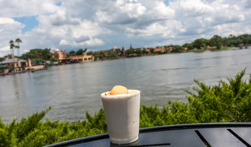 Twinings Pumpkin Chai Cocktail Ireland Epcot Food Wine Festival 2016