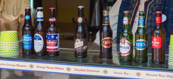 Epcot Morocco Beer Selection