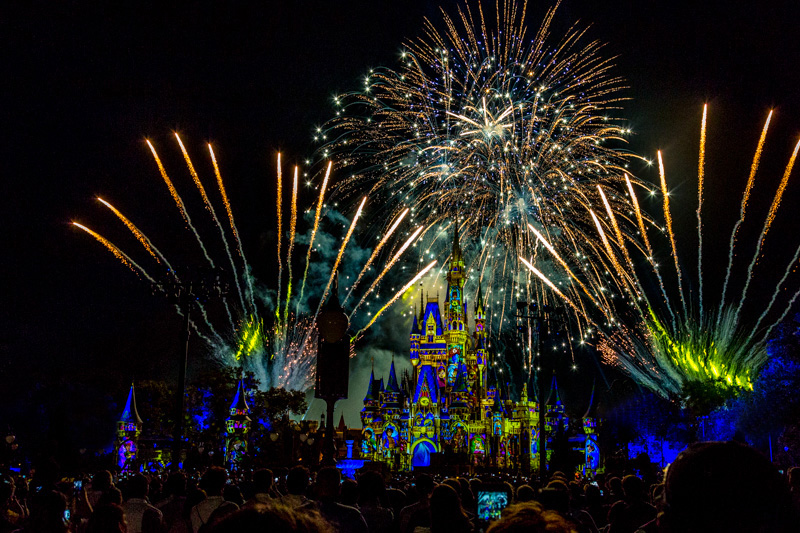 Delightful Happily Ever After Is The Fireworks And Projection Show Extravaganza That  Replaced Wishes At Magic Kingdom Back In The Middle Of May.